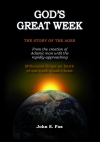 God's Great Week - Cover & Chart (folded)