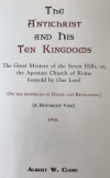 Antichrist and his Ten Kingdoms The
